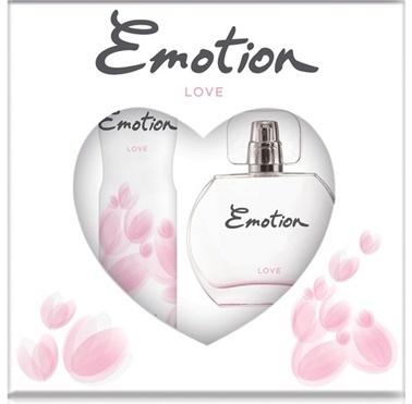 Emotion  Love Edt 50Ml+Deo150Ml Kadın Parfüm Set Renksiz